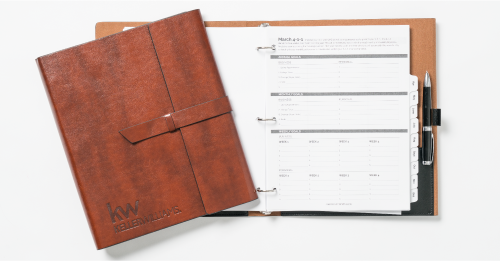 Brown Planner